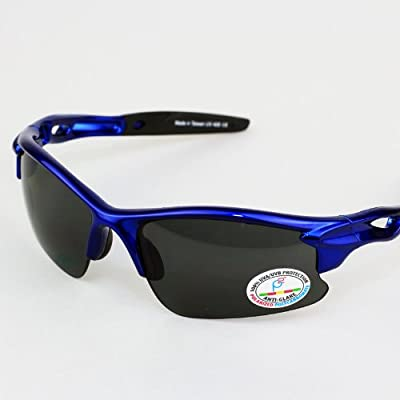Real Kids Shades Sweep Polycarbonate White Blue Mirror Lens 7+ Royal Sunglasses