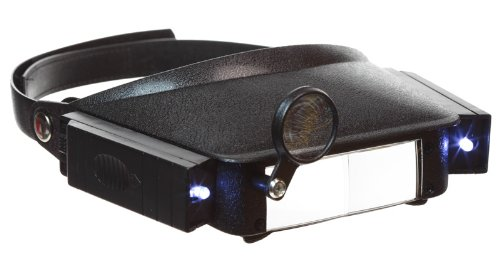 SE Magnifier, Headband Lighted