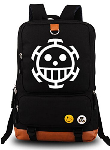 Siawasey One Piece Anime Cosplay Canvas Bookbag Backpack Shoulder Bag School Bag (Chopper Gloves Children compare prices)