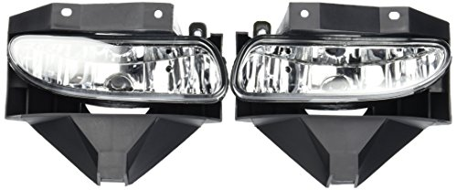 99-04 Ford Mustang OEM Fog Lights Clear Lens Pair (Mustang Headlights 99 04 compare prices)