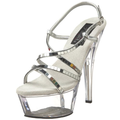 Pleaser Women'S Kiss-213 Platform Sandal