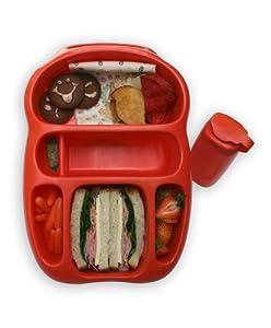 Goodbyn Lunchbox, Red/Orange