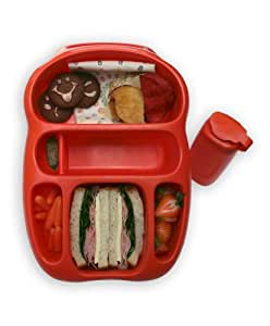 Goodbyn Lunchbox, Red/Orange (Discontinued by Manufacturer)