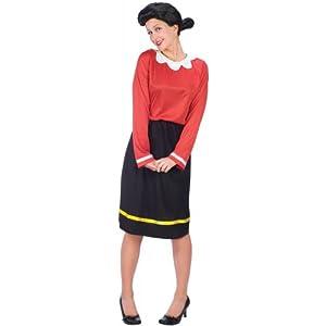 Olive Oyl Costume - Medium/Large - Dress Size 10-14
