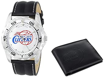 Game Time Unisex NBA-WWS-LAC Wallet and Los Angeles Clippers NBA Watch Set by Game Time