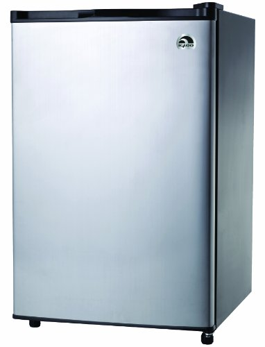 Igloo FR465 4.6-Cu-Ft Refrigerator, Stainless 