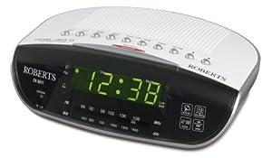 Roberts CR9971 Chronologic Vi Dual Alarm Clock Radio with Instant Time Set