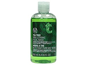 The Body Shop Tea Tree Skin Clearing Facial Wash Regular, 8.4 fl. Oz.