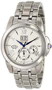Seiko Men's SNP065 Analog Silver Dress Watch
