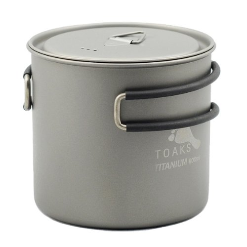 TOAKS Titanium 600ml Pot (Titanium Pot Backpacking compare prices)