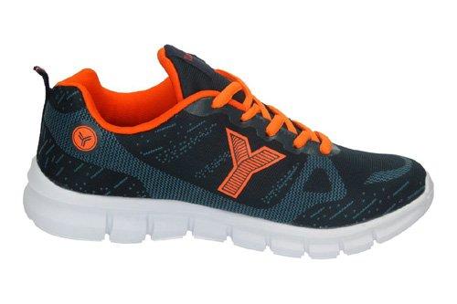 Yumas, Scarpe outdoor multisport uomo Blu arancione Size: 45