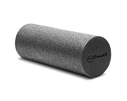 BLACK High Density Foam Roller – 18″x6″ – ²QYUHZ