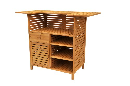 Leisure Season OB4727 Outdoor Bar with Storage