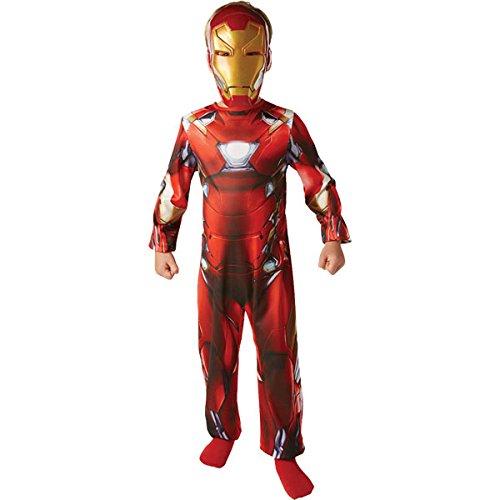 Iron Man Kinder Kostüm - 7-8 Jahre