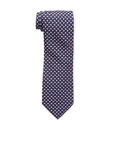 Bruno Piattelli Men's Classic Small Paisley Tie, Pink