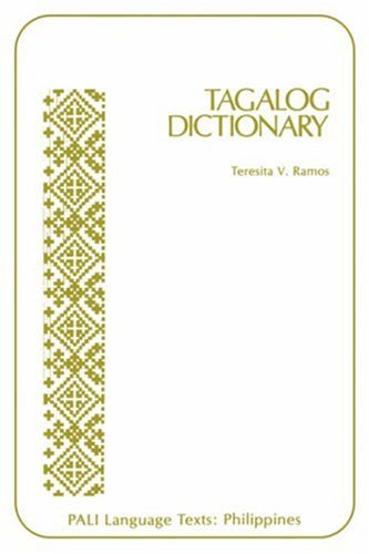 Tagalog Dictionary (Pali Language Texts: Philippines)