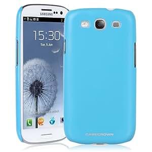 CaseCrown Metallic Snap On Case (Bubblegum Blue) for Samsung Galaxy S III S3 GT-I9300