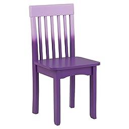 KidKraft Avalon Chair, Purple Ombre