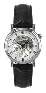 Rotary Herren-Armbanduhr XL Analog Handaufzug Leder GS02841/21