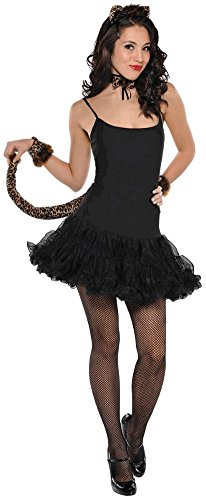 Adult Costume Accessory Set - Leopard Kitty