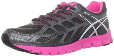 ASICS Women's GEL-Lyte33 Running Shoe,Storm/White/Hot Pink,11.5 M US
