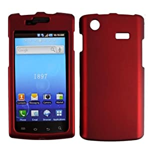 Red Case Cover Faceplate Protector for Samsung Captivate i897 Galaxy S
