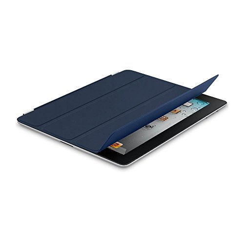 IPAD SMART COVER - PELLE - BLU MARINA