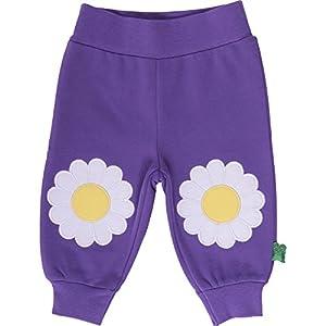 Fred's World by Green Cotton Sweat appliqué pants - Pantalones para niñas
