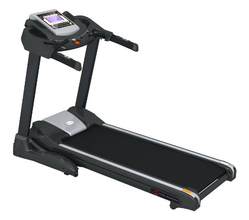 Gym Master Semi Commerial Electric Treadmill Exercise Equipment - Fitness Motorised Home Gym. Motor: 3.0HP - Speed: 1-22km/h - Incline: 1-20%