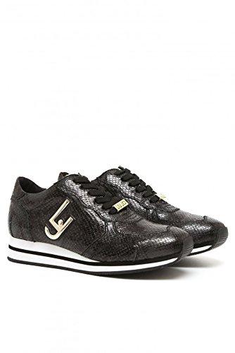 S66067E0331 03V32.Sneaker running glicine.Nero pitone.36