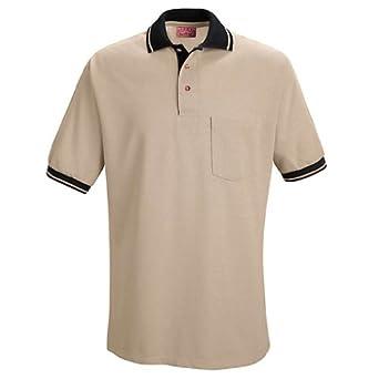 Buy Red Kap® SK14 Performance Knit® Contrast Trim Shirt by Red Kap