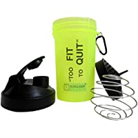 5 O'Clock Sports Fat Boy Shaker Bottle - 600 Ml- Sleek And Convenient Design