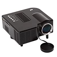 "Mini Av LED Digital Projector W/usb, Sd Card Slot & Speaker - Enjoy Custom Viewing with a 17"" to 67"" Display! by Unic"