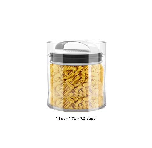 Evak Best Airless Storage Canisters, Patented & Designed in USA (Large Short) (Pet Food Grinder compare prices)