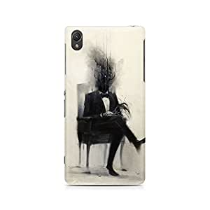 Mobicture Man Illustrated Premium Designer Mobile Back Case Cover For Sony Xperia Z5