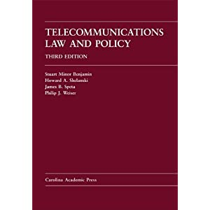 Telecommunications Law And Policy (Law Casebook)