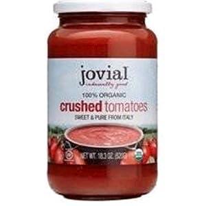 Jovial Organic Crushed Tomatoes - 18.3 OZ - 6 pk