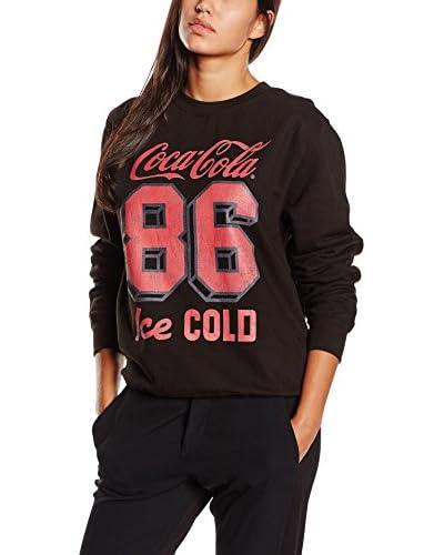 Coca Cola Sudadera Negro