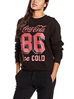 Coca Cola Sudadera (Negro)