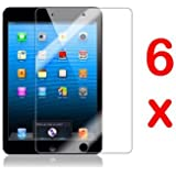 GadgetinBox Pack of 6 Screen Protectors for New Apple iPad Mini