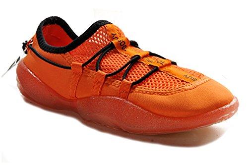 Tosbuy Slip on Aqua,outdoor,running,athletic,rainy,skiing,climbing,dancing,water Shoes for Men & Women (39 EU (7 M US Men/8 M US Women), Orange)