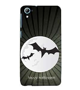EPICCASE happy walloween Mobile Back Case Cover For HTC Desire 826 (Designer Case)