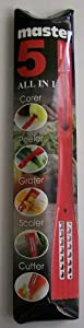 5 in 1 Peeler, Corer, Grater, Scaler, Cutter Kitchen Utensil