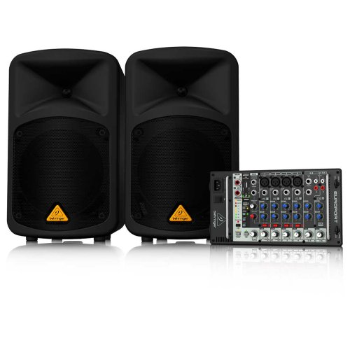 BEHRINGER EUROPORT EPS500MP3 (Behringer Powered Speakers compare prices)