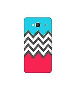 Kolor Edge Printed Back Cover For Xiaomi Redmi 2 - Multicolor (4390-Ke10624Redmi2Sub)
