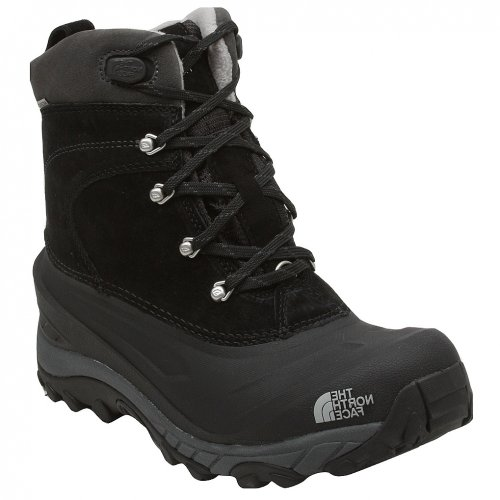 North Face Mens Chilkat II Boot, Black/Griffin Grey, 10.5
