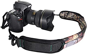 Golitonreg Decompression shock absorption cushion camera quick rapid strap belt with adjustable buck