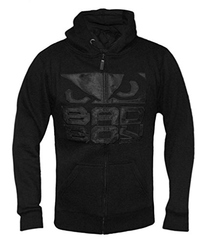 Bad Boy Carbon Hoodie - Black bad influence