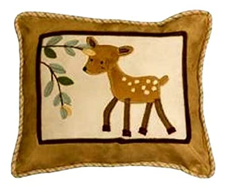 Lambs and Ivy Enchanted Forest Decorative Pillow