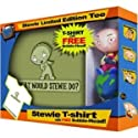 Family Guy STEWIE T-Shirt and Bobblehead Set